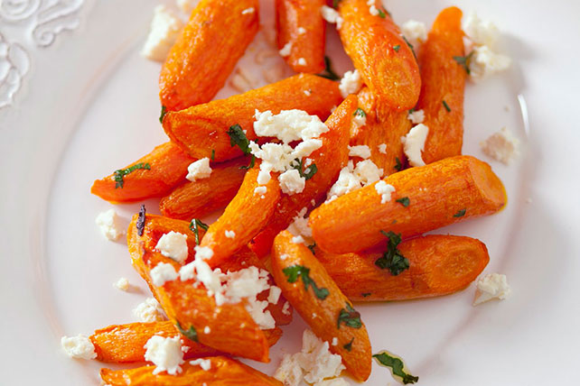 Roasted Carrots with Feta Image 1
