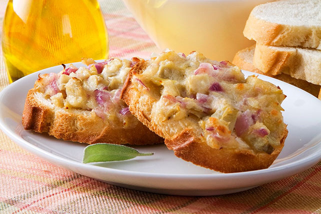 Cannellini and Artichoke Bruschetta