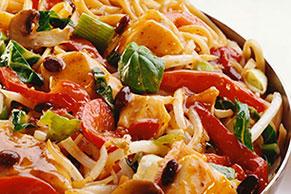 Chicken and Veggie Noodle Stir-Fry Recipe