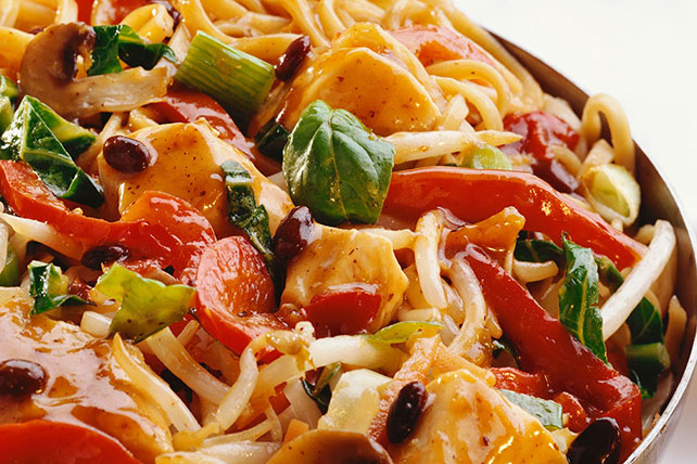 Asian Chicken Noodle & Veggie Stir-Fry Image 1