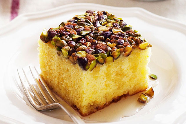 Lemon Fruit & Nut Cake Image 1