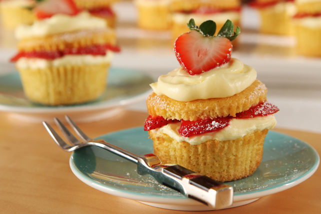 Strawberry Shortcake Cupcakes Image 1