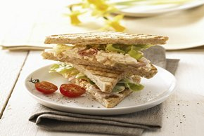 Egg Salad-Tomato Sandwiches Image 2