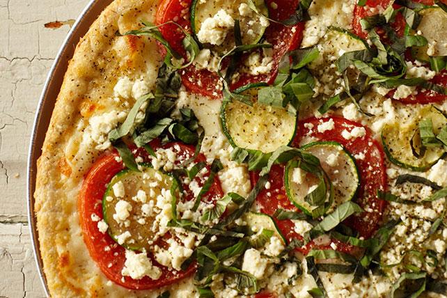 Zucchini-Feta Pizza Image 1