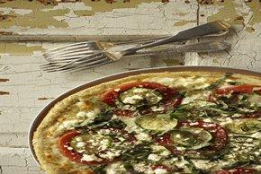 Zucchini-Feta Pizza Image 2