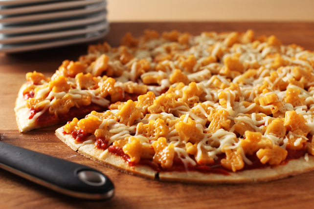 Teenage Mutant Ninja Turtles Macaroni & Cheese Pizza Image 1