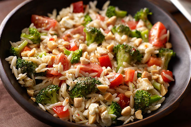 Ensalada de pasta orzo y brócoli Image 1