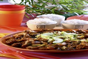 Asian Pork with Cucumber Relish Image 2