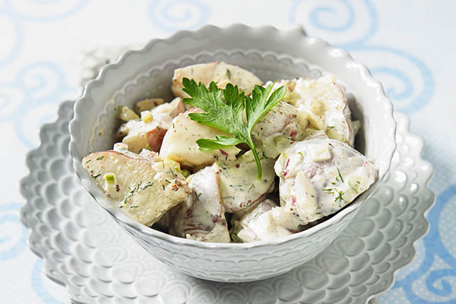 Red Potato Salad with Dill Image 1