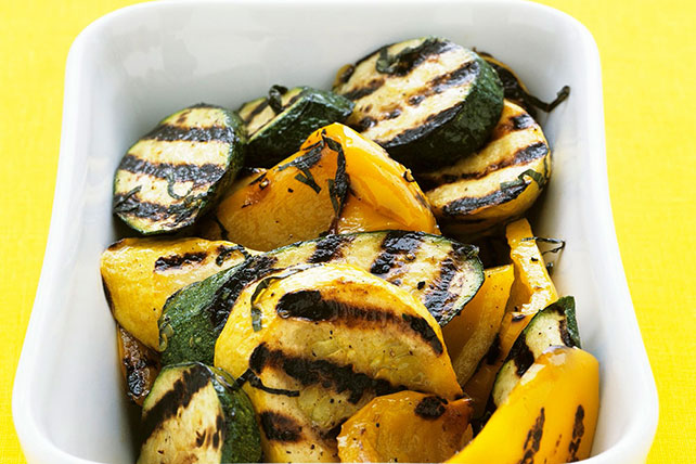 Grilled Squash and Zucchini Image 1