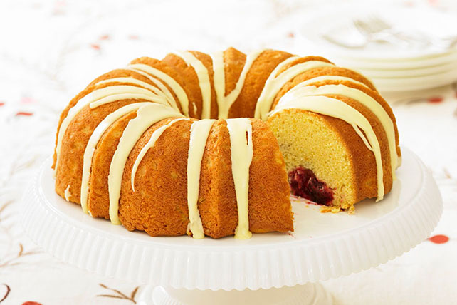 Cranberry-Filled Cheesecake Pound Cake Image 1