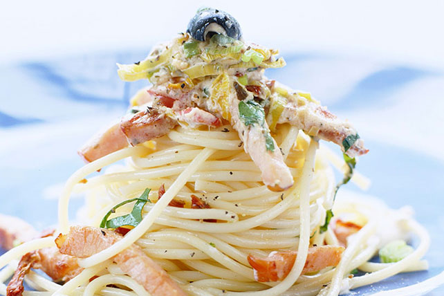 Pasta Salad with Baked Ham Image 1