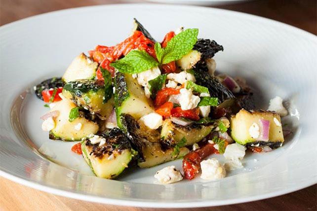 Roasted Zucchini Salad Image 1