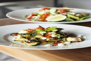 Roasted Zucchini Salad Image 2
