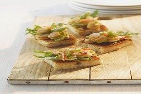 Shrimp and Asparagus Bruschetta Image 2