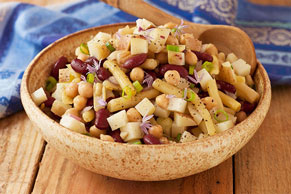 Three-Bean Potato Salad