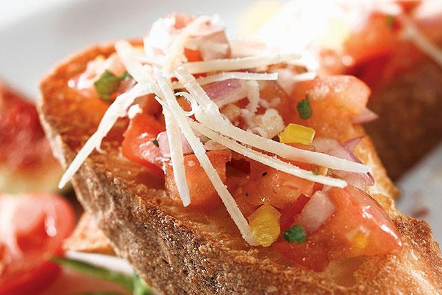 Tomato & Yellow Pepper Bruschetta Image 1