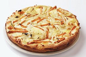 Pizza with Sweet Potato and Onion Image 2