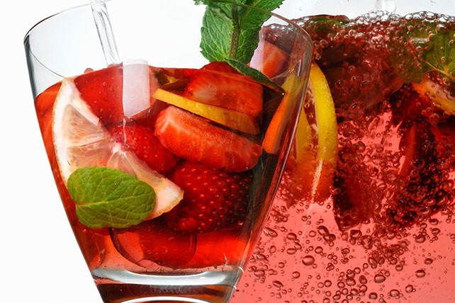 Easy Strawberry Punch Recipe