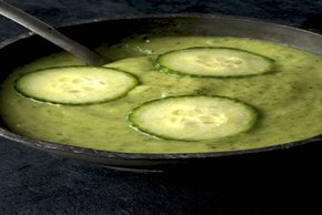 Cool and Creamy Cucumber Soup Image 2