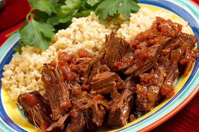 Slow-Cooker Beef and Salsa Image 1