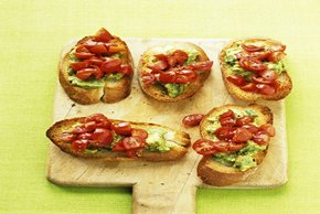 Avocado-Tomato Crostini Image 2