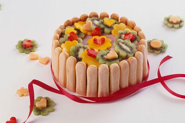 Strawberry-Kiwi Ladyfinger Dessert Image 1