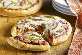 Personal Veggie Pizzas Image 2