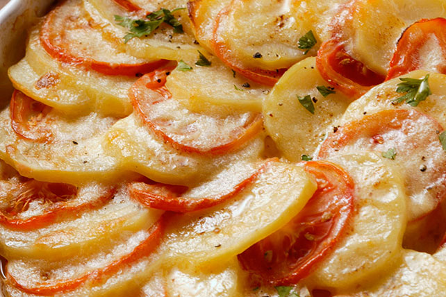 Potato and Tomato Bake Image 1