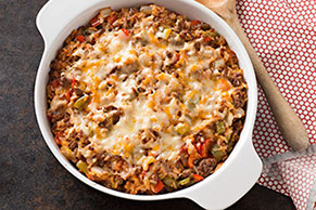 Mexican Unstuffed Pepper Casserole
