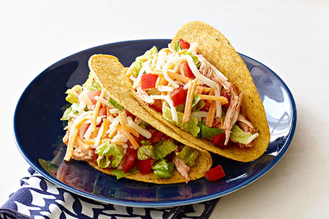 Slow Cooker Shredded Chicken Tacos My Food And Family