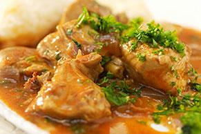 Creamy Chicken Paprikash
