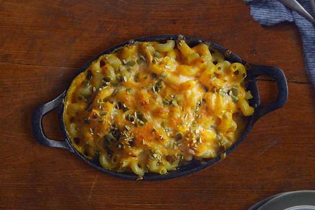 Pumpkin-Chipotle Mac and Cheese
