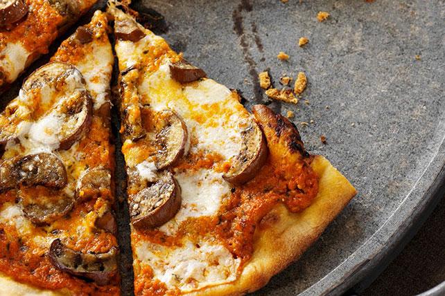 Easy Mushroom Pizza Image 1