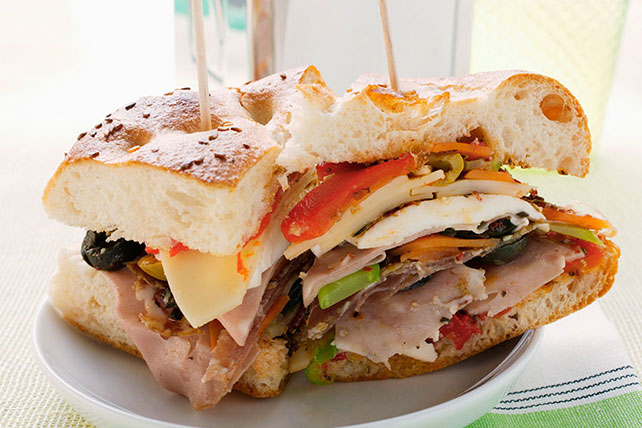 Italian Chicken and Ham Sandwich Image 1