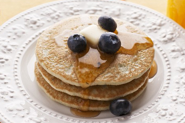 Buttermilk Pancakes with Blueberries Image 1