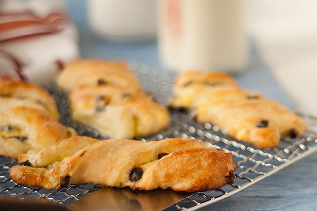 Chocolate Pastry Twists Image 1
