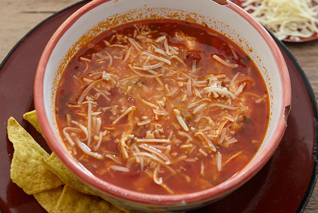 Spicy Chicken Tortilla Soup Image 1