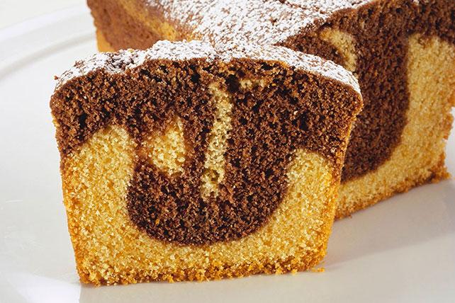 Marble Loaf Cake Image 1