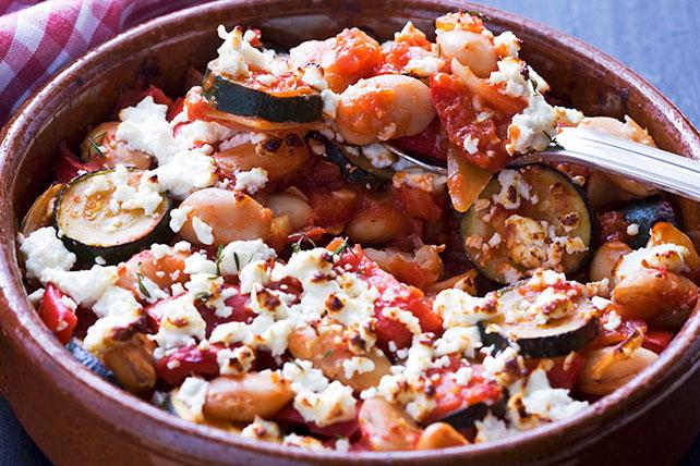 Mediterranean Bean and Veggie Bake Image 1