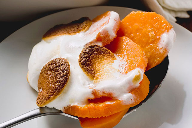 Sweet Potato Marshmallow Gratin