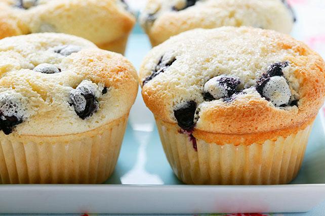 Easy Lemon Blueberry Muffins Image 1