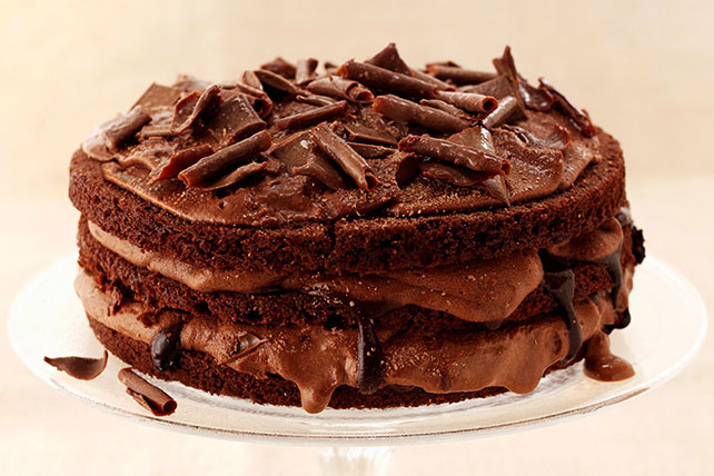 Triple Layer Chocolate Cake Image 1
