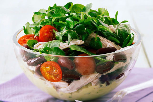 Parmesan, Chicken and Tomato Salad Image 1
