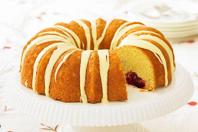 Gâteau quatre-quarts aux canneberges Image 1