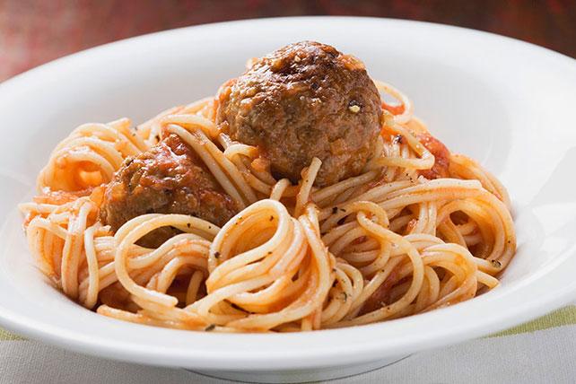 Spaghetti à la sauce aux boulettes de viande Image 1