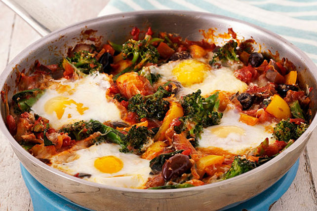 Egg and Veggie Skillet Image 1
