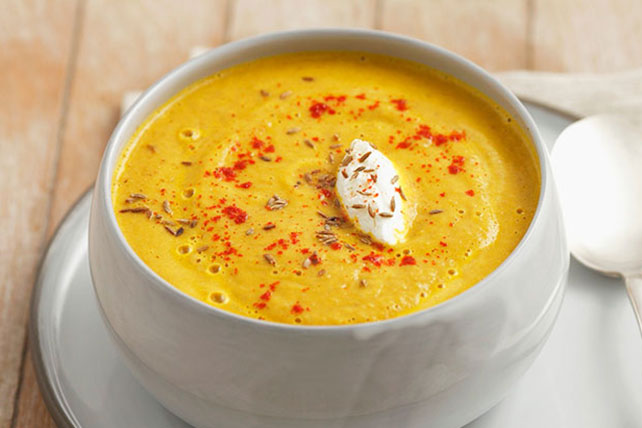 Creamy Carrot and Lentil Soup Image 1