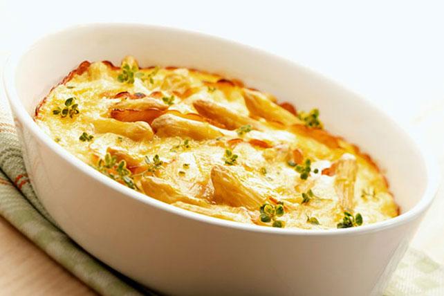 Cheesy Baked Asparagus Image 1