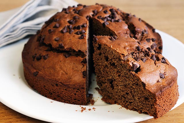 Chocolate, Chocolate Chip Cake Image 1